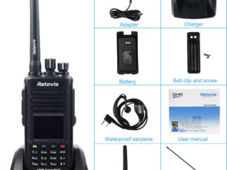 Retevis RT8 Walkie Talkie IP67 Waterproof 5W UHF 400—480Mhz with GPS Function