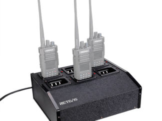 RTC29 Six Way Multi Unit Charger Two Way Radio Charger Station